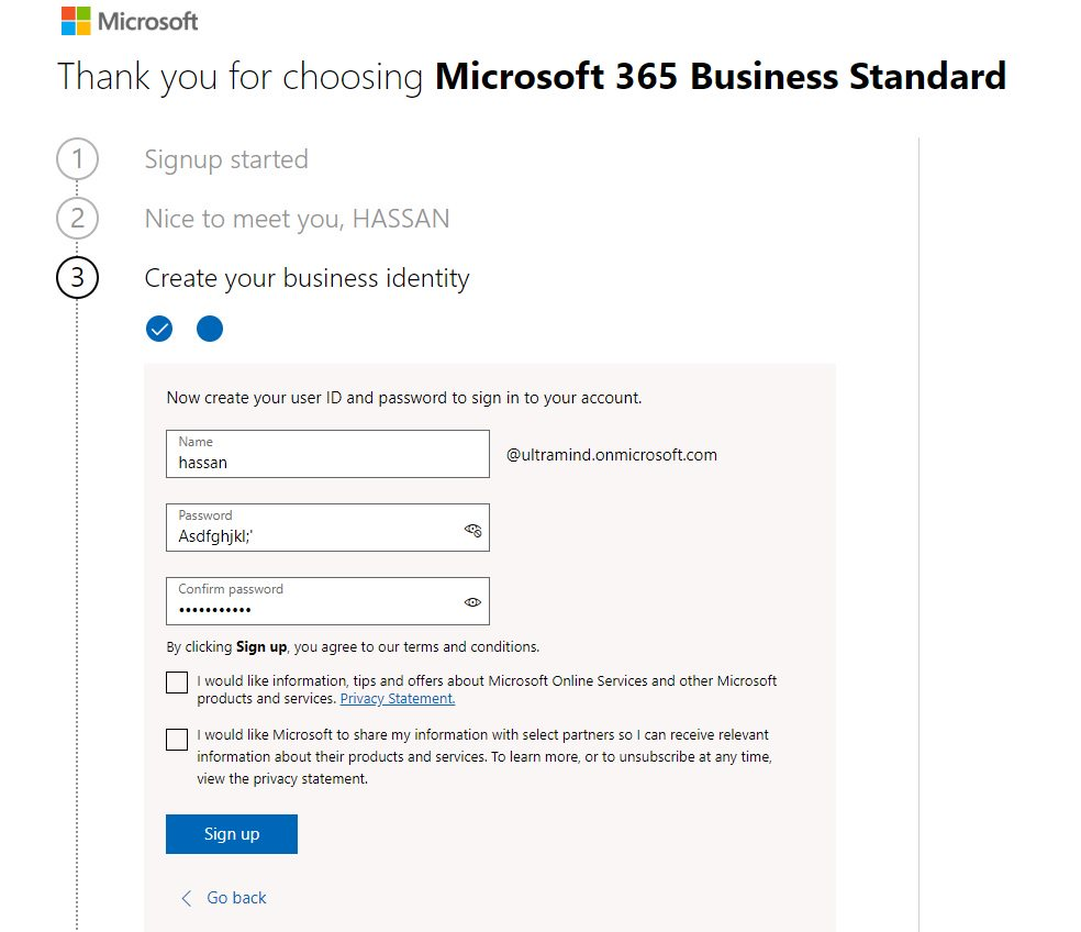 Get SharePoint Online and PowerBI Services Step 6